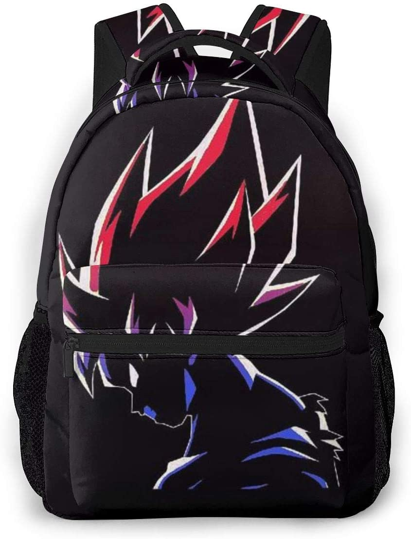 Funny Backpack QUNUNE-126 Daypack Student Bag School Bag Shoulder Bookbag for Boys Girls