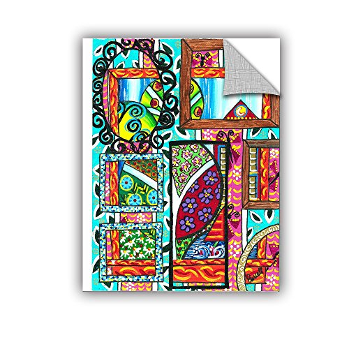 Price comparison product image ArtWall Debra Purcell's Mirrors of Reflections Art Appeelz Removable Graphic Wall Art