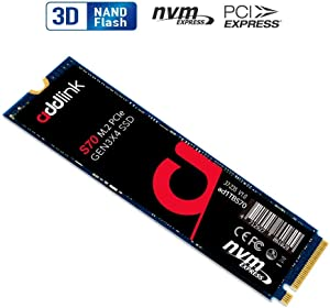 addlink S70 1TB SSD NVMe PCIe 3x4 M.2 2280 Internal Solid State Drive Read 3,400MB/s/Write 3,000MB/s
