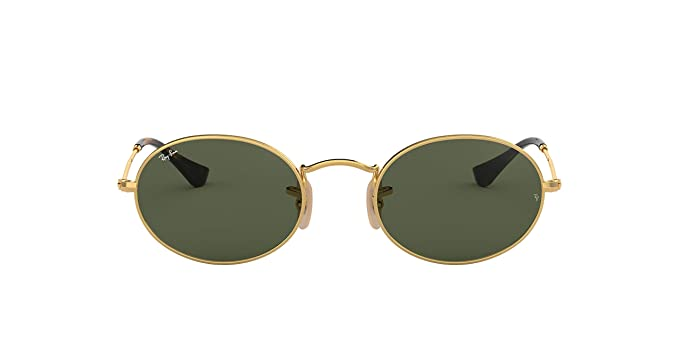eca88acebc Image Unavailable. Image not available for. Color  Ray-Ban Metal Unisex Sunglass  Oval ...