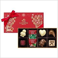 【チョコレートトリュフの新商品】ゴディバ (GODIVA) レンヌ ドゥ ノエル アソートメント 9粒