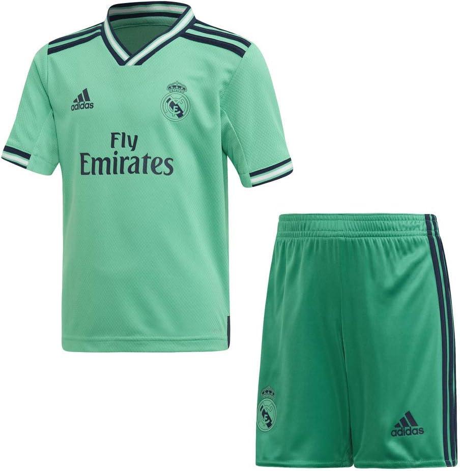 adidas Miniconjunto Tercera Equipacion Real Madrid Fútbol, Unisex ...