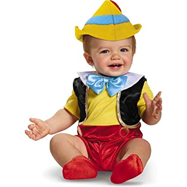 Amazon.com: Disney Baby Boys\' Pinocchio Infant Costume, Multi, 6 ...