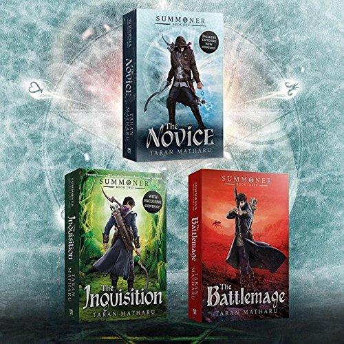 amazon summoner the novice book 1 taran matharu fantasy magic