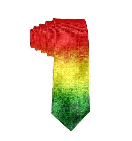 MrDecor Corbata para Hombre o Adolescente con diseño de Rasta ...