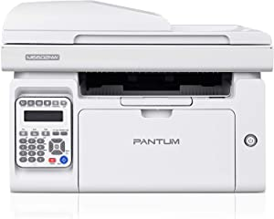 All-in-One Monochrome Wireless Laser Printer with Scanner Copier Fax and ADF, Print at 23PPM in Black and White, Pantum M6602NW