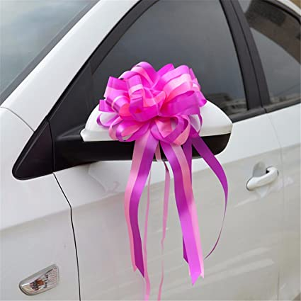 Amazon Com 10pcs Party Decoration Ribbon Bow Pull Flowers