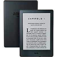 """Kindle, schermo touch da 6"""" (15,2 cm), senza luce integrata, Wi-Fi (Nero) - Con offerte speciali"""