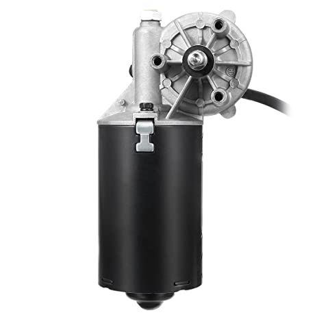 sourcing map C.C. 24V 50RPM 8mm Doble Eje Plano Reversible MotorReductor Eléctrico con Engranaje de Ángulo