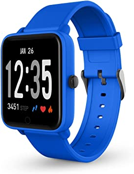 SPC Smartee Feel - Smartwatch (a prueba de agua IPX7, multideporte ...
