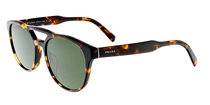 Amazon.com: anteojos de sol Prada PR 13 TSF vau1i0 Havana ...