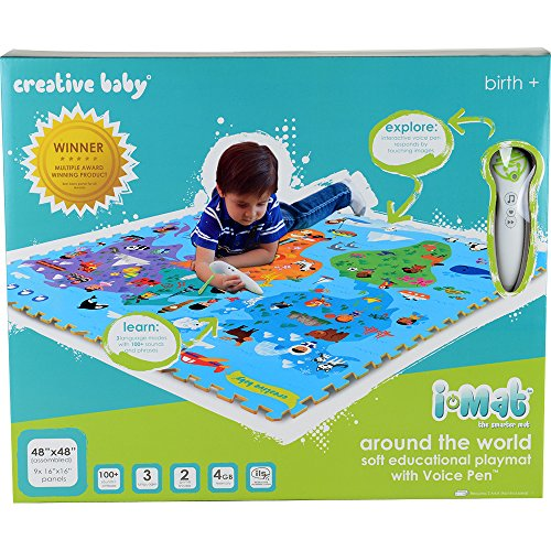 Creative Baby i-Mat Around The World Soft Educational Playmat