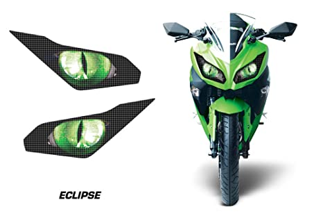 Amazoncom Amr Racing Sport Bike Headlight Eye Graphic Decal Cover