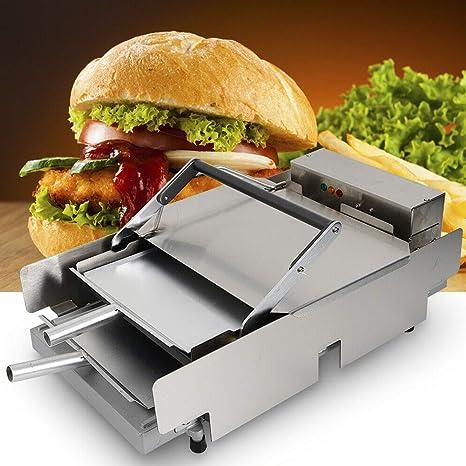 Amazon.com: Máquina de hamburguesas, TBVECHI, doble ...