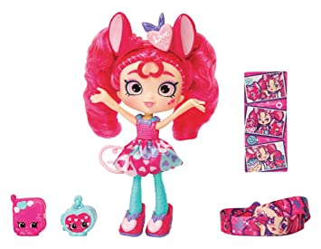 Shopkins Shoppies - Muñecas temáticas Serie 9 - Valentina Hearts Mouse