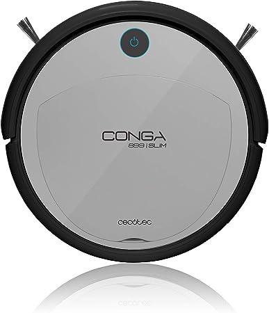 Cecotec Robot Aspirador Conga Serie 899. 800 Pa, Navegación Inteligente iTech Easy, Aspira, Barre, Friega y Pasa la ...