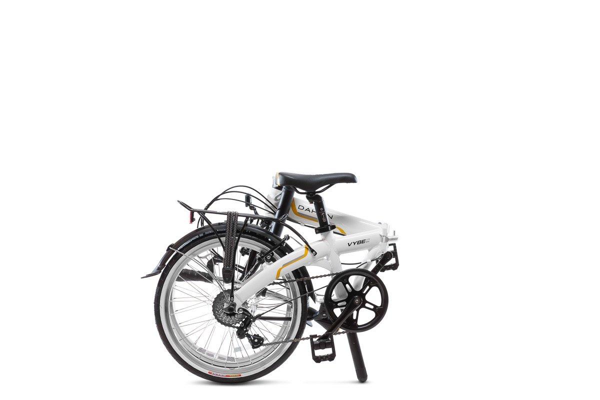 Dahon Vybe C7A - Bicicleta plegable de 20 pulgadas, color blanco: Amazon.es: Deportes y aire libre