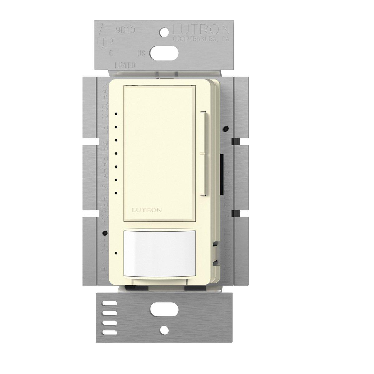 Lutron Maestro CL単極/ multi-location Vacancy Sensingディマー MSCL-VP153M-LA 1 B00FQL25GK Light Almond Light Almond