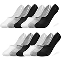 Rovtop Calcetines Cortos 12Pares Calcetines para Hombre - Calcetines Invisibles de Malla Transpirable con Antideslizante…
