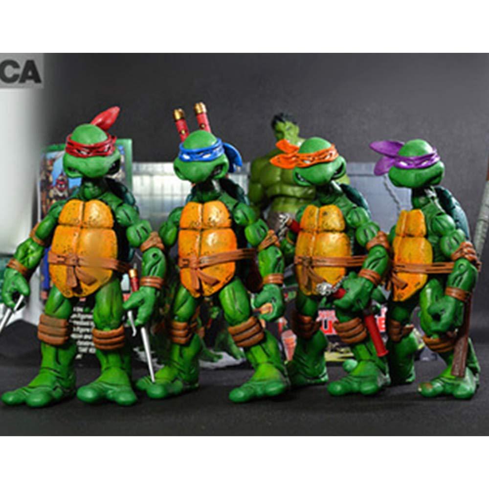 COOL MODEL Paquete De 4 Personajes: Leonardo Donatello ...