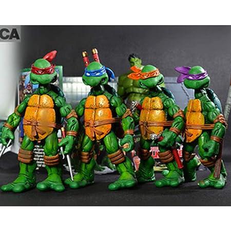 HAIZI FIGURE Paquete De 4 Personajes: Leonardo Donatello ...