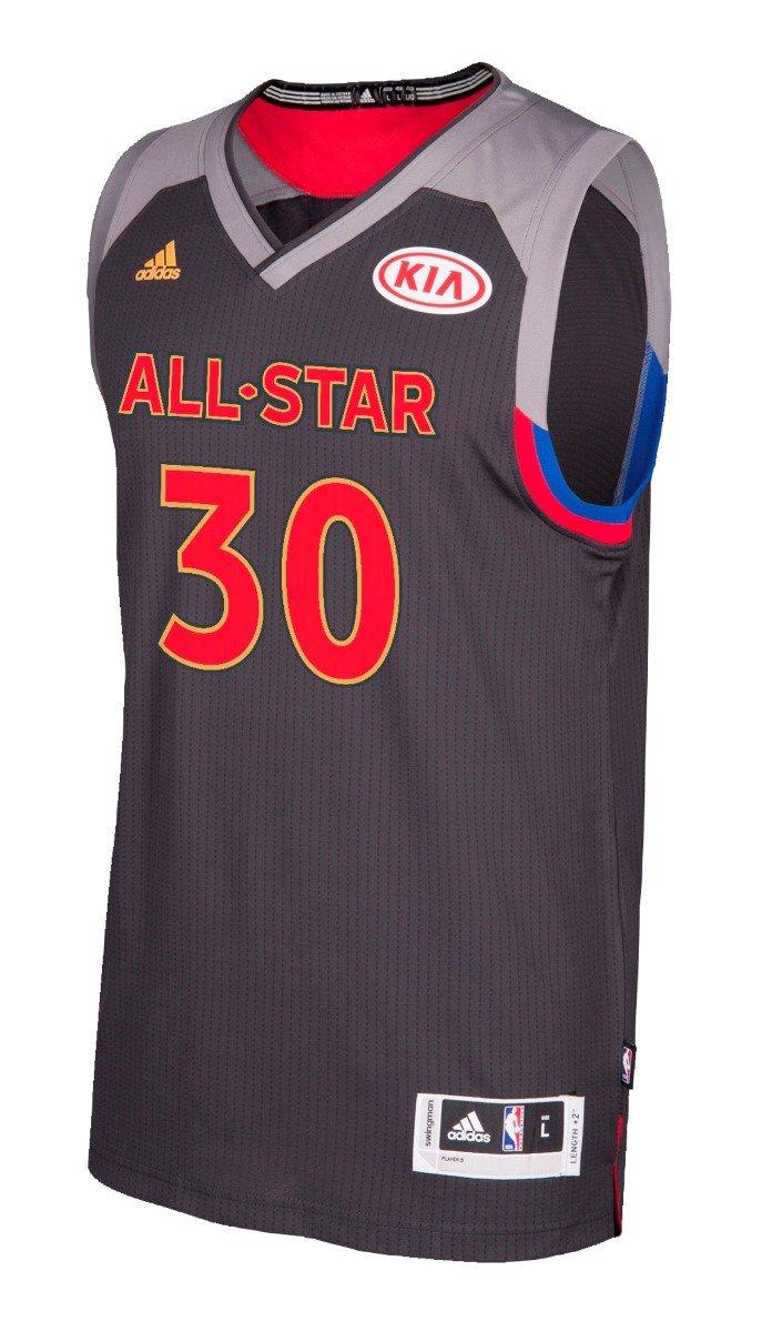 4e7cc6291 adidas Stephen Curry Golden State Warriors 2017 NBA All Star Swingman Jersey