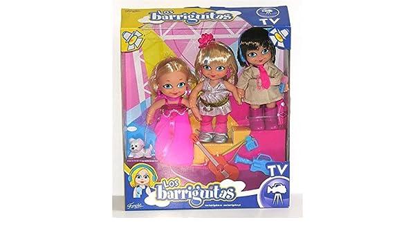 Amazon.es: FEBER Pack 3 Barriguitas Estudio TV: Juguetes y juegos
