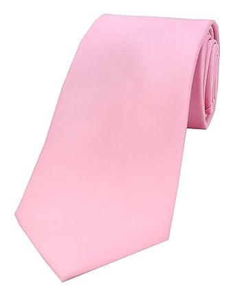 Soprano - Corbata - Básico - para hombre Rosa rosa Talla única ...