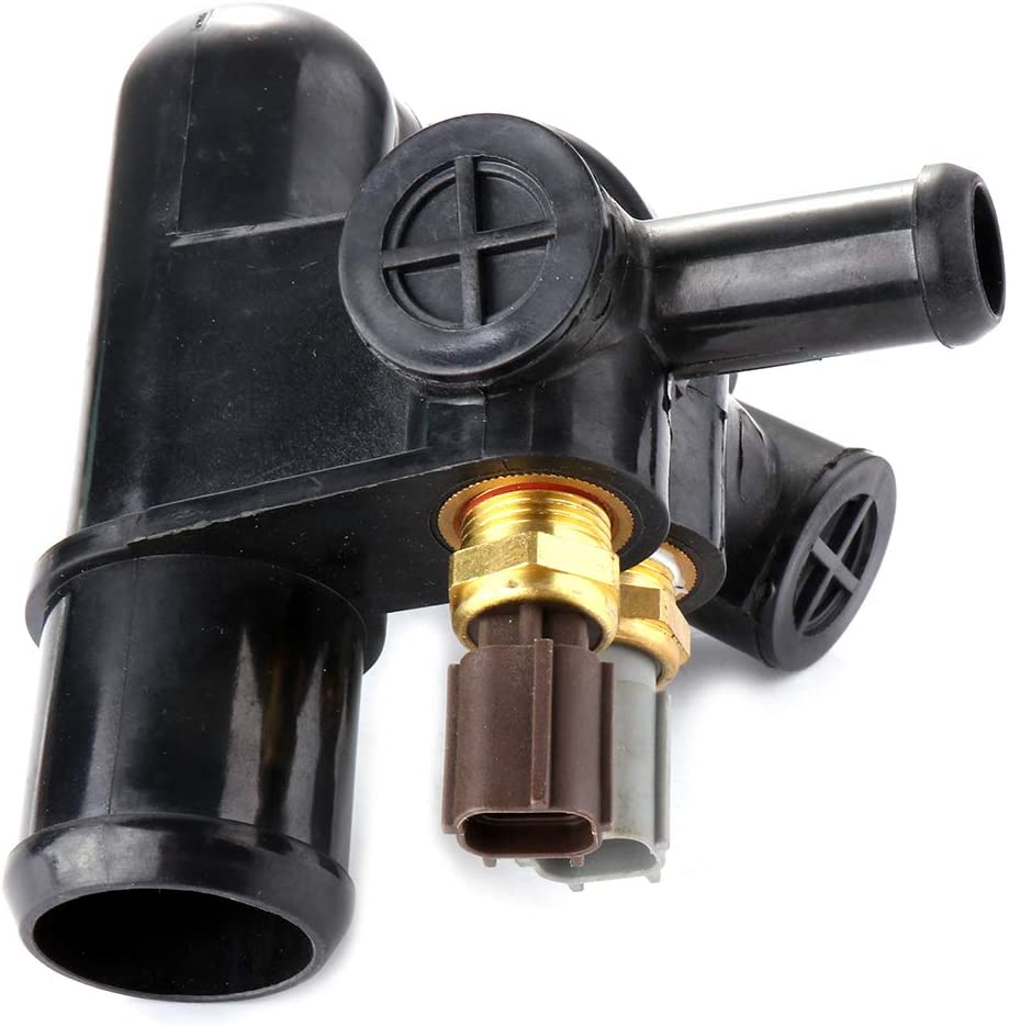 ZENITHIKE Engine Thermostat kit F87Z8592A RH-243 fit for 1998-2001 Ford Ranger,1998-2001 Mazda B2500 Original Equipment Thermostat Housing OE Replacement