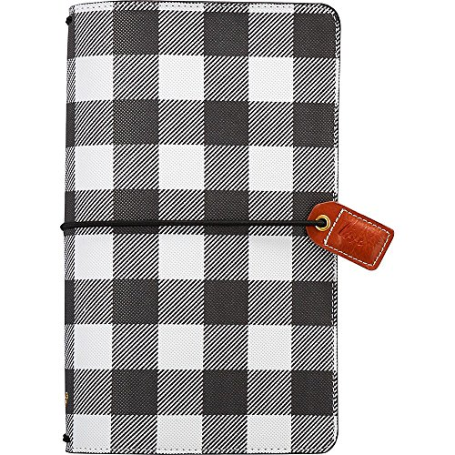 Webster's Pages Buffalo Plaid Traveler Notebook (TJ001-BP)