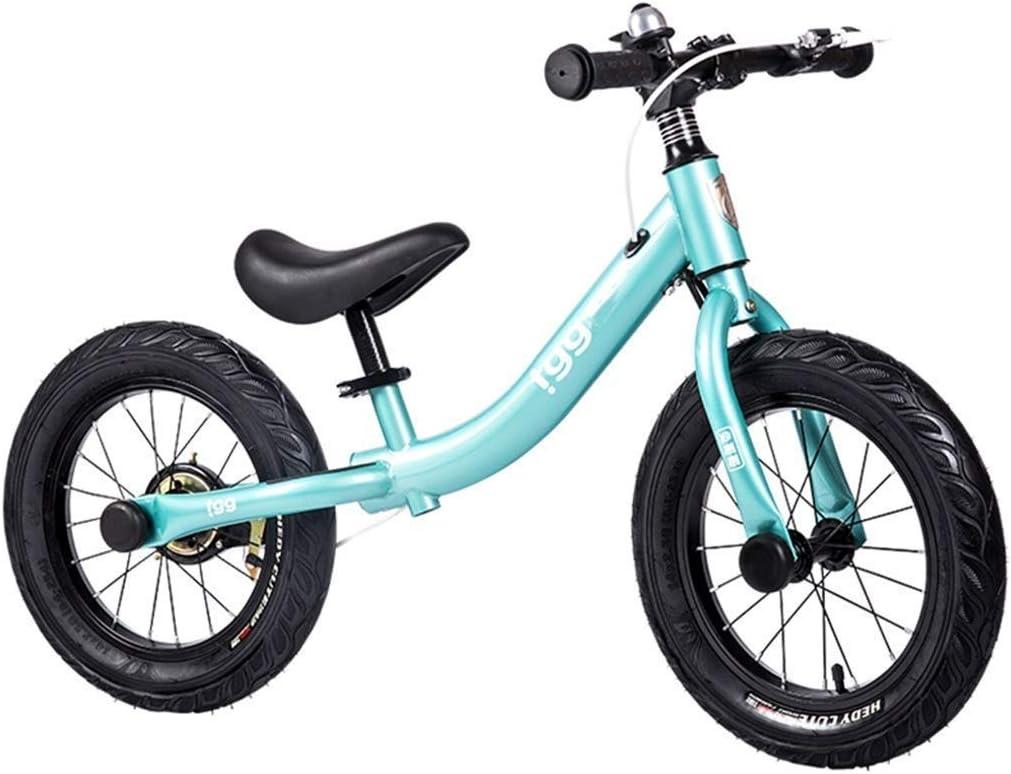 Felices juntos Bicicletas de Equilibrio for niños de 6 años, Carro for niños de 14 Pulgadas Coche for niños con tobogán sin Pedal Scooter de Bicicleta de 4-8 años: Amazon.es: Juguetes y juegos