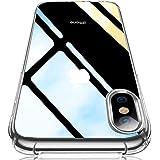 iPhoneXsMaxケース クリアケース 薄型ケース 透明ケース ソフト TPUケース シリコン 耐衝撃ケース アイフォン xs max ケース 防塵 ワイヤレス充電対応 黄変防止 滑り止め おしゃれ 人気 クリスタル・クリア