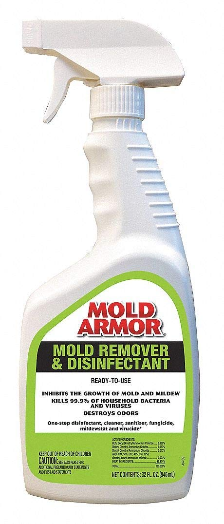 Mold Armor FG552 - Mold Mildew Remover 32 oz. Pack of 2