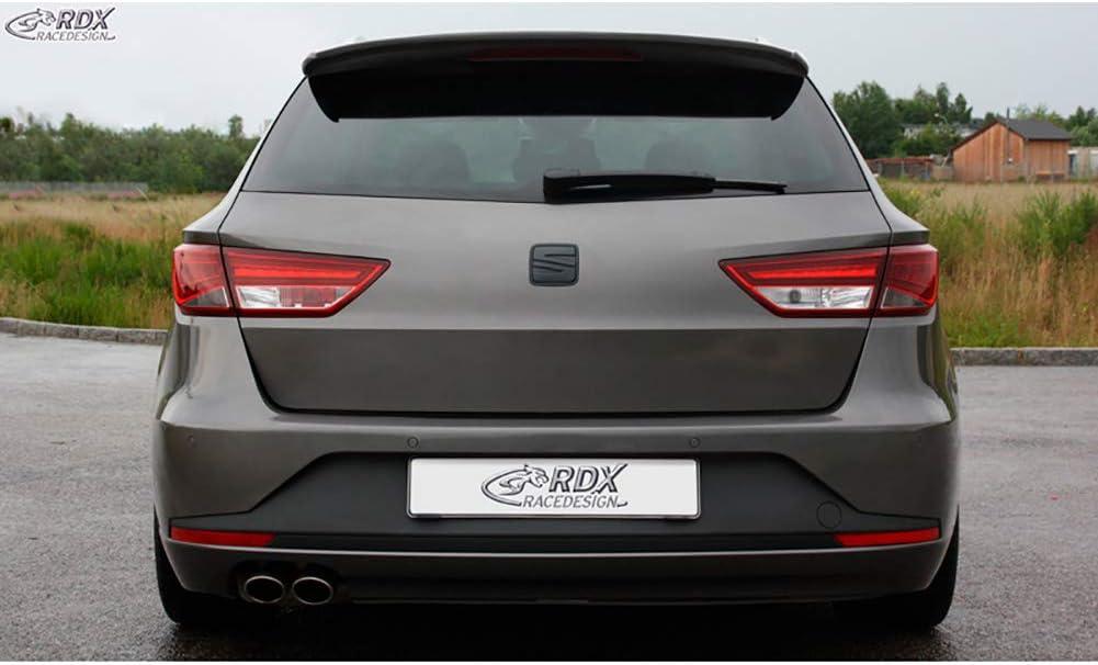Qiilu Glossy Black Rear Roof Spoiler Fit for SEAT Leon 5F Mk3 5 Door 2013-2020