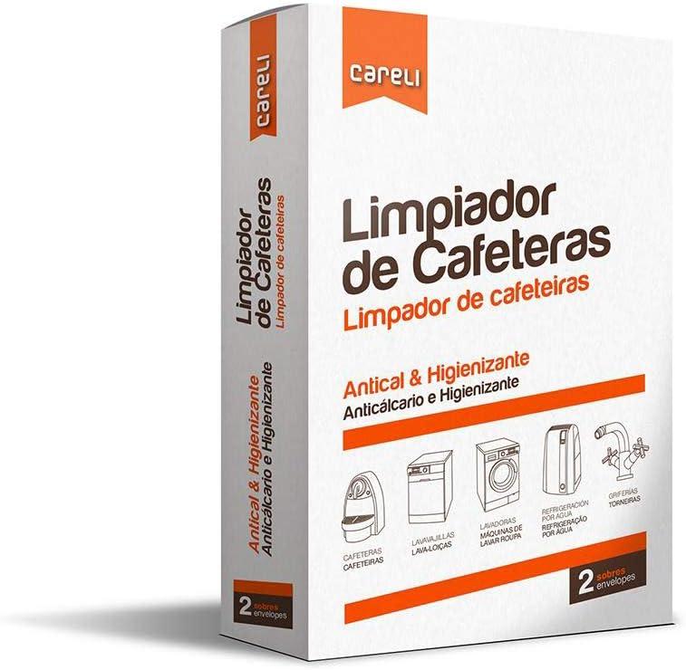 CARELI LIMPIADOR DE CAFETERAS (pack de 8 cajas): Amazon.es: Hogar