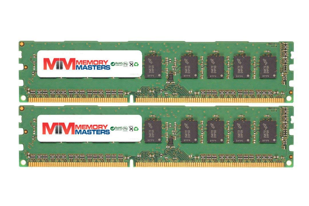 4GB 2X2GB RAM Memory for Compaq HP Compatible Compatible Z Series Workstations Z600 Workstation (FM023UT) MemoryMasters Memory Module 240pin PC3-12800 1600MHz DDR3 ECC UDIMM Upgrade