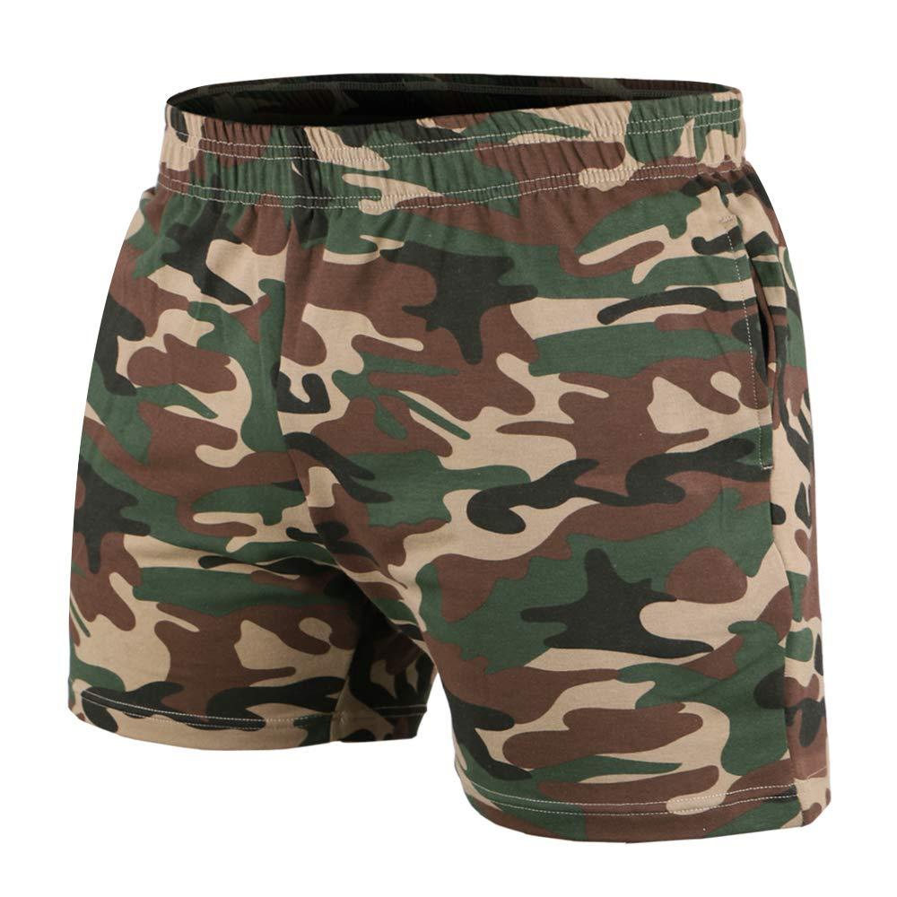 6abba66ce9e83 Musclealive para hombre del Bodybuilding gimnasio 5 entrepierna pantalones  cortos de algodón Terry product image