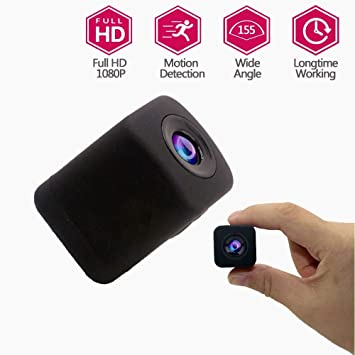 WANGOFUN Cámara Oculta, espía Mini bebé Pet Monitor CAM cámara visión Nocturna y detección de