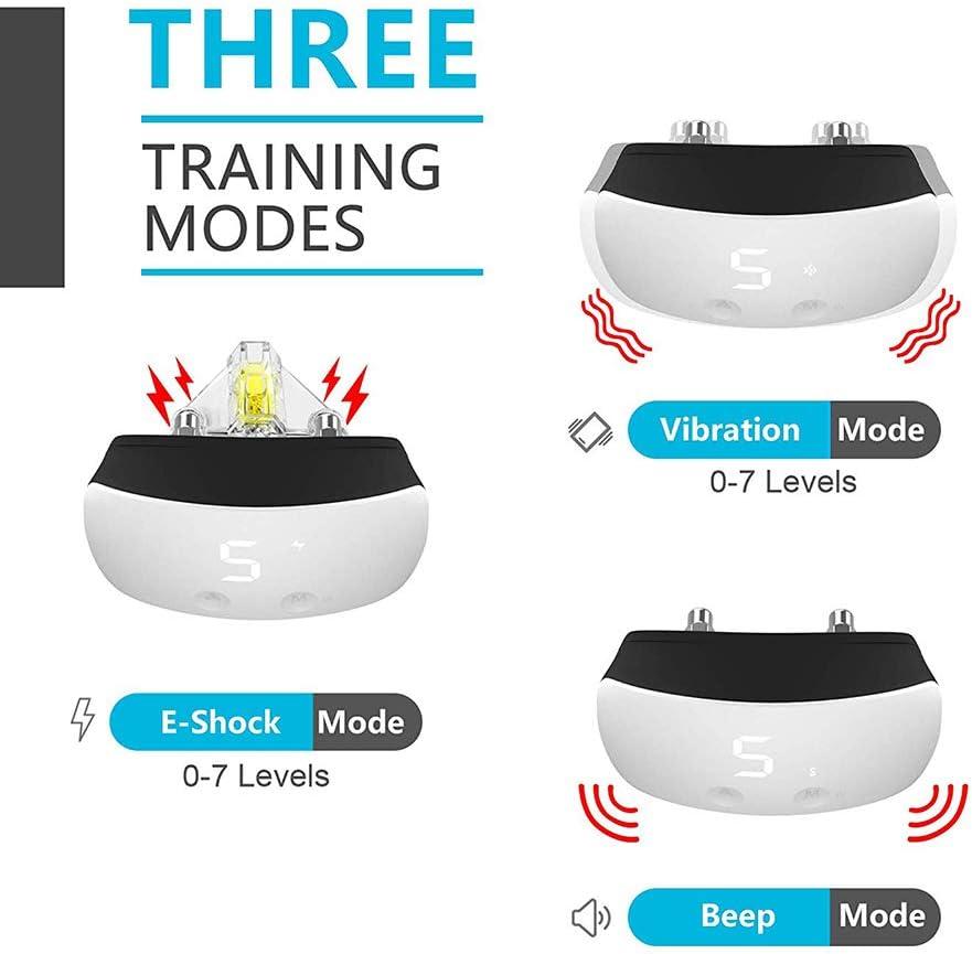 Training & Behavior Aids Bark Collars Rechargeable Barking Trainer ...