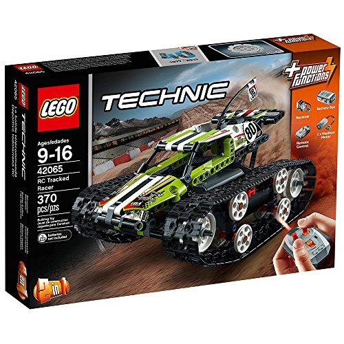 61PhyMZVnKL - LEGO Technic RC Tracked Racer 42065 Building Kit (370 Piece)