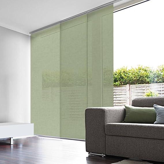madecostore - Cortina japonesa de lino (45 x 260 cm): Amazon.es: Hogar