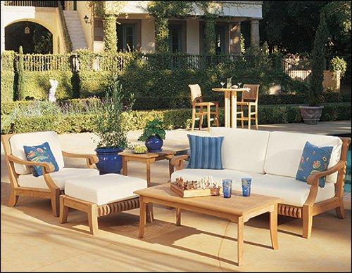 New Luxurious Piece Teak Sofa product image