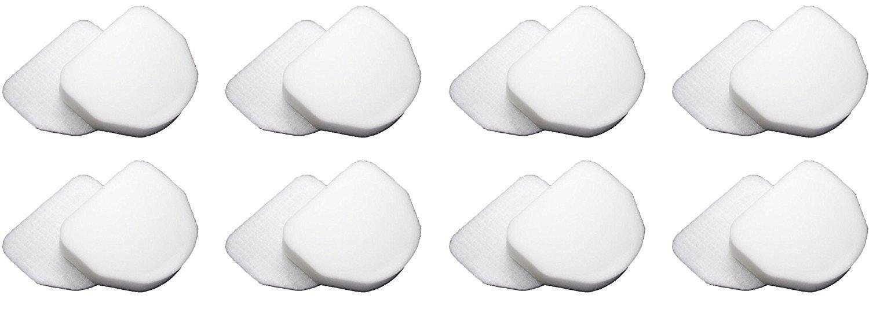 8 Sets Replacement Filter Set for Shark Vacuum XFF450 Rotator PowerLight Professional NV450 Bagless Upright (8 felt & 8 foam) …