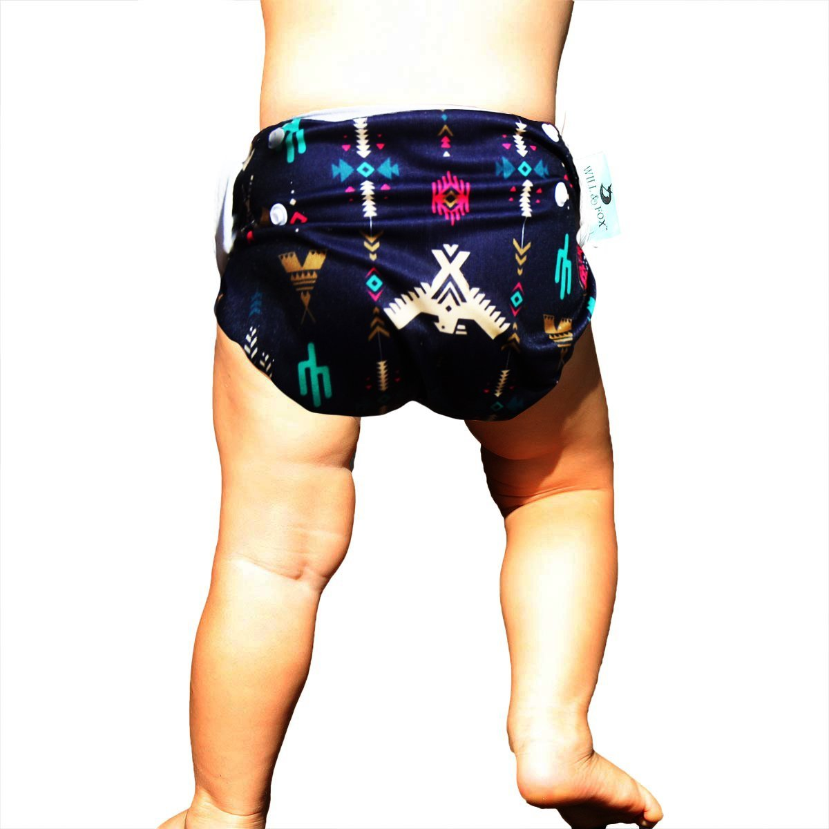 Will & Fox Babies Swim Diaper Multi-Functional Adjusts FIT Age 0-3 YRS Girls & Boys Styles