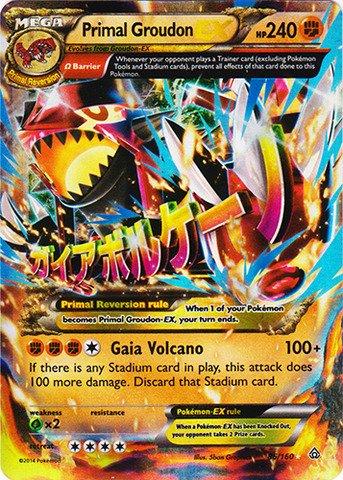 Pokemon - Primal Groudon-EX (86/160) - XY Primal Clash - Holo from Pokémon