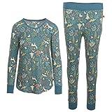Woolrich Women s Huckleberry II Thermal Pajama Set Blue Multi XS