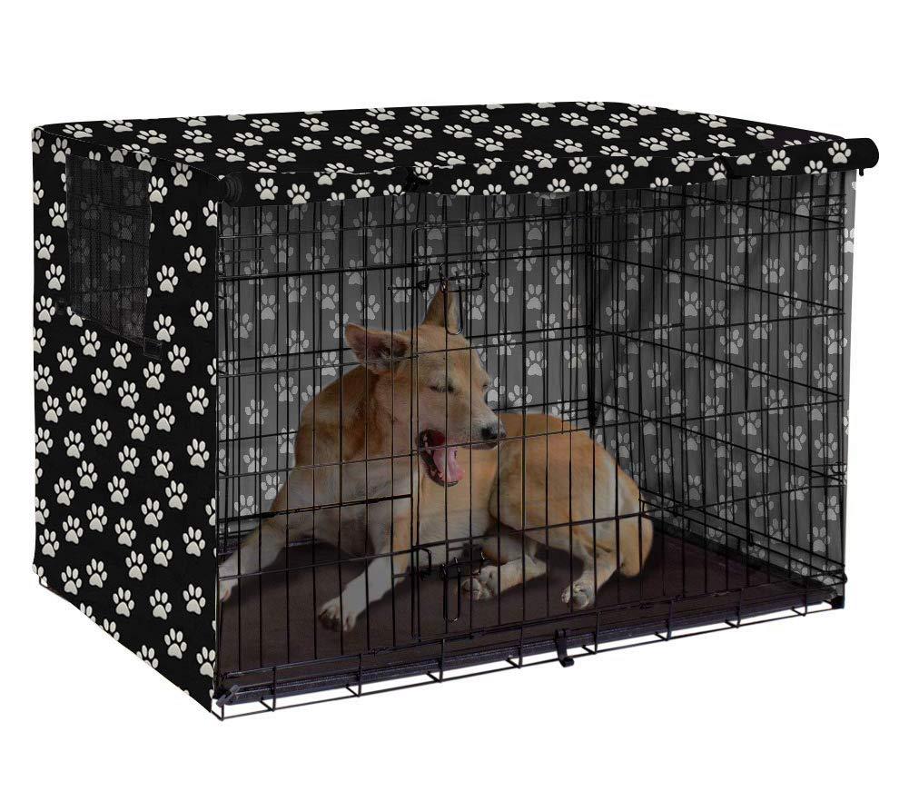 protecci/ón Interior y Exterior Resistente para Mascotas poli/éster Morezi Solo Funda Funda Universal para jaulas de Alambre Resistente al Viento