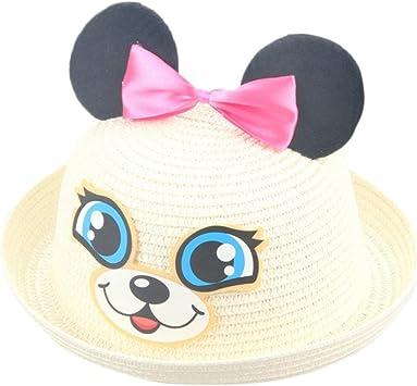 Sombreros y gorras Bebé, Sombrero de Paja Bebé niñas niño Gorro ...