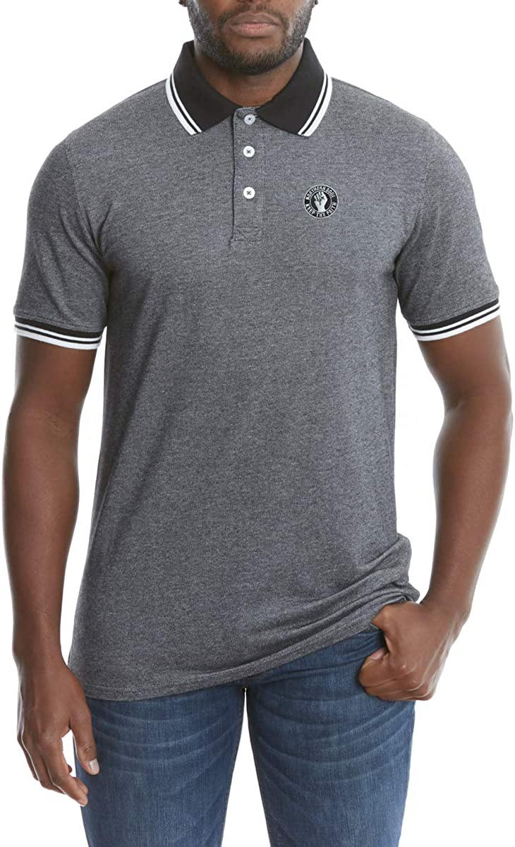 Northern Soul Keep The Faith Polo Bordado de Calidad de Lujo para ...