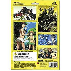 Persona 4 Magnet Collection Sheet